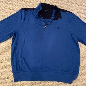 Nautical pullover sweatshirt